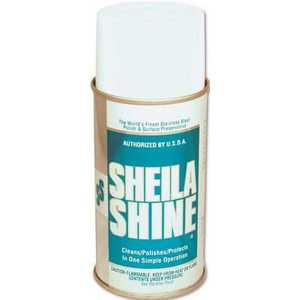SHEILA SHINE 10125/73440002 STAINLESS STEEL POLISH OIL BASED 10 OZ