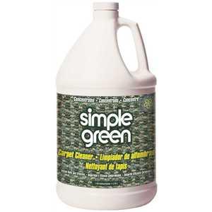 SIMPLE GREEN 0510000615128 CARPET CLEANER, GALLON