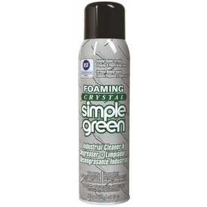 SIMPLE GREEN 0610001219010 FOAMING CRYSTAL CLEANER/DEGREASER, 20 OZ