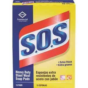 S.O.S 1650088320 Steel Wool Soap Pads