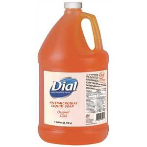 DIAL 2340088047 Gold Antimicrobial Liquid Hand Soap - 4/1 Gallon Refill