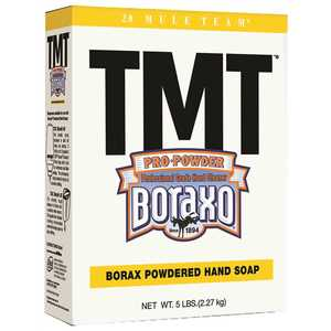 DIAL 023400025619 TMT Boraxo Powdered Hand Soap - 10/5lb Box