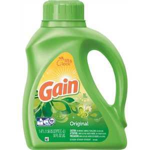 GAIN 003700012784 50 oz. Original Scent Liquid Laundry Detergent (32-Load)