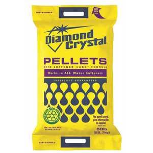 DIAMOND CRYSTAL 100012424 DCW 50 lbs. Water Softener Salt