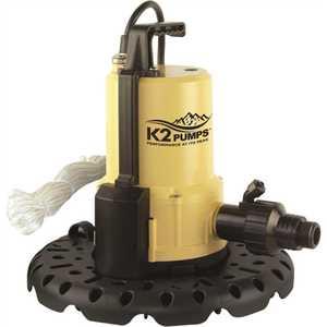 K2 pumps UTA02502APK 0.25 HP Automatic Pool Cover Utility Pump