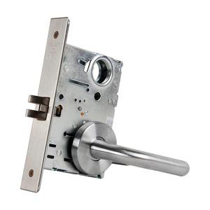 Falcon MA101 SG 626 MA Series Passage Mortise Lock, Satin Chrome