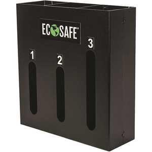 ECOSAFE FSDISP 3-Slot Commercial Kitchen Bag/Liner Dispenser