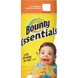 Essentials White Paper Towel Roll (1 Regular Roll)