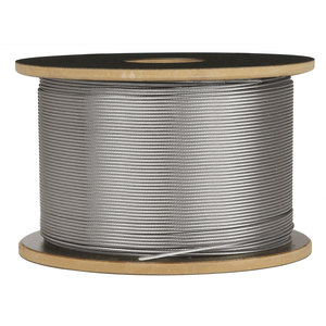 """Lavi 49-C125-1/200 Bulk Roll 1/8"""" Cable for C.A.T. Cable Railing System 200 feet 1/8"""""""