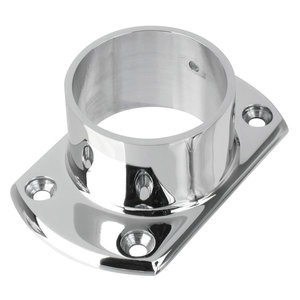 """Lavi 40-531/2 Cut Wall Flange for 2-Inch Tubing Cut Flange 2"""" 304-Grade Polished Stainless Steel"""