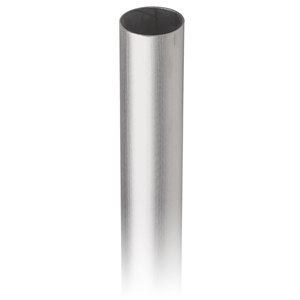 """Lavi 49-A121/12 2-inch Round Tubing for Architectural Railing Systems .060"""" 12 feet 2"""" 316-Grade Satin Stainless Steel"""