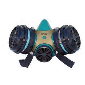 Binks 900255 40-143 Millennium 3000 Series Paint Spray Respirator, Large, Gold