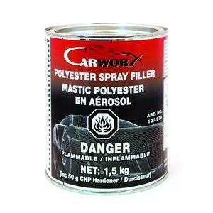CARWORX 127.978 Polyester Spray Filler 1L (6/cs)
