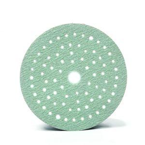 CARWORX 140.315 Green Ice Sanding Disc, P150, Multi Hole, 6 inch, 100/box