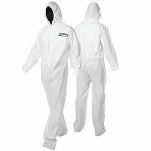 DeVilbiss 803671 803671 Disposable Coverall, Medium, White, Nylon, Elastic Waist