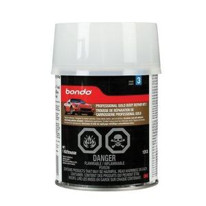 Bondo™ 01313 01313C Professional Gold Body Repair Kit, 1 qt Can, Red, Paste