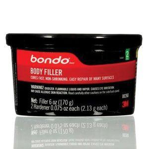 Bondo™ 260 00260 Single Use Body Filler, 6 oz Can
