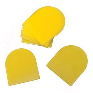 E-Z Mix® 51002 51002 Body Filler/Glaze Spreader, 2 in, Plastic, Yellow