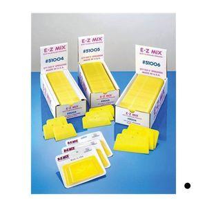 E-Z Mix® 51004 51004 Body Filler/Glaze Spreader, 4 in, Plastic, Yellow