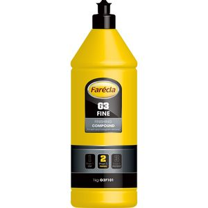 Farecla G3F101 G3F101 G3 Series Fine Finishing Compound, 1 kg Bottle, White, Liquid