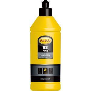 Farecla G3F501 G3F501 G3 Series Fine Finishing Compound, 500 g Bottle, White, Liquid