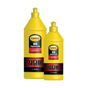 Farecla G3P101 G3P101 G3 Premium Abrasive Compound, 1 L Bottle, White, Liquid, Compound