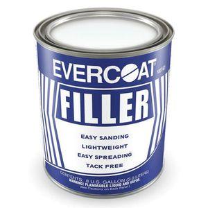 EVERCOAT® 100141 100141 Lightweight Body Filler, 3 L Can, Pale Yellow, Liquid