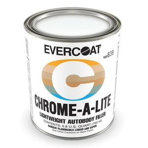 EVERCOAT® 100839 100839 Professional Lightweight Body Filler, 750 mL Can, Yellow, Liquid