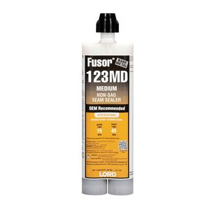 123MD 2-Part Medium Non-Sag Seam Sealer, 10.1 oz Cartridge, White, Paste, 36 hr Curing