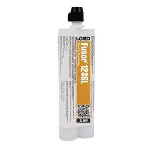 Fusor® 123SL 123SL 2-Part Slow Non-Sag Seam Sealer, 10.1 oz Cartridge, White, Paste
