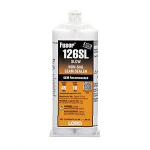 126SL Slow Non-Sag Seam Sealer, 1.7 oz Cartridge, White, Paste