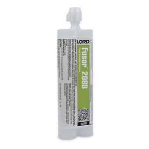 Fusor® 208B 208B Slow Panel Bonding Adhesive, 10.1 oz, Paste, Gray, 90 min at 70 deg F Application