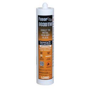 Fusor® 803DTM 803DTM DTM Sealer, 10 oz Cartridge, Black, Paste, 72 hr Curing