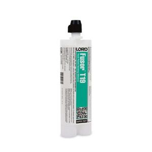 Fusor® T19 T19 2-Part Super Fast Bonding Adhesive, 10.1 oz Cartridge, Brown, Liquid