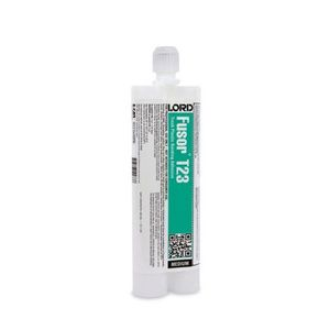 Fusor® T23 T23 2-Part Medium Bonding Adhesive, 10.1 oz Cartridge, Brown, Liquid