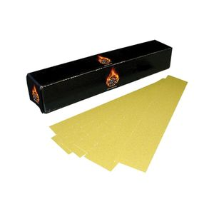 """High Teck Products 165040 (50) 2.75"""" x 16.5"""" Gold PSA 40 File Board Paper"""