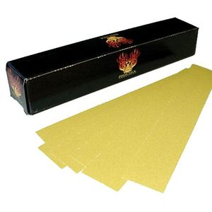 """High Teck Products 165120 (100) 2.75"""" x 16.5"""" Gold PSA 120 File Board Paper"""