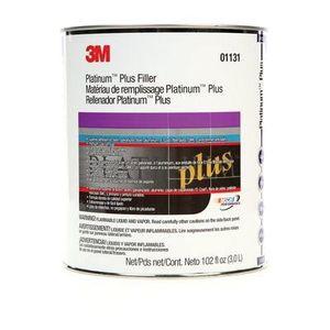 3M 1131 01131 Premium Body Filler, 1 gal Can, Gold, Paste