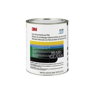 Marson® 1160 01160 Short Strand Fiberglass Reinforced Body Filler, 1 gal Can, Green, Liquid/Paste, Short Strand