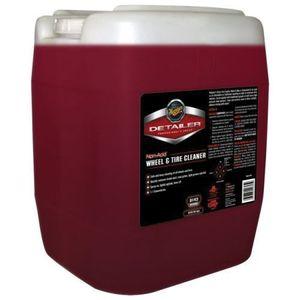 Meguiar's D14305 D14305 Non-Acid Wheel and Tire Cleaner, 5 gal Can, Dark Red, Liquid