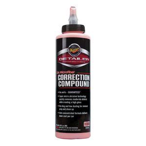 Meguiar's D30016 D30016 Microfiber Correction Compound, 16 oz Bottle, High Gloss Creamy Red, Liquid