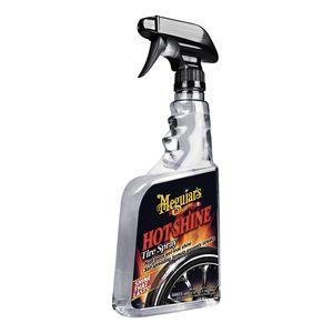 Meguiar's G12024 G12024 Tire Spray, 24 oz Spray Bottle, Clear, Liquid