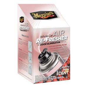 Meguiar's G16302 G16302 Whole Car Air Re-Fresher, 2.5 oz Aerosol Can, Clear, Liquid, Sparkling Berry