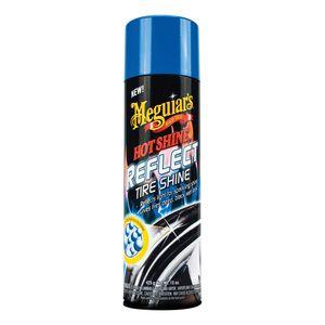 Meguiar's G18715 G18715 Reflect Tire Shine, 15 oz Aerosol Can, Clear, Liquid