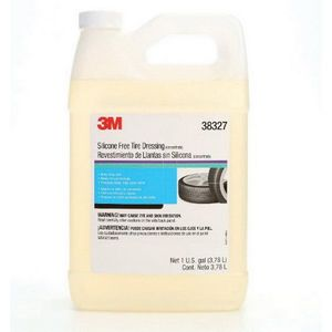 3M 38327 38327 Silicone Free Tire Dressing, 1 gal Bottle, Clear Bright Pink, Liquid