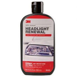3M 39162 39162 Headlight Restorer, 8 oz Bottle