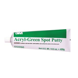 3M 05096 05096 Putty, 14.5 oz Tube, Green, Paste