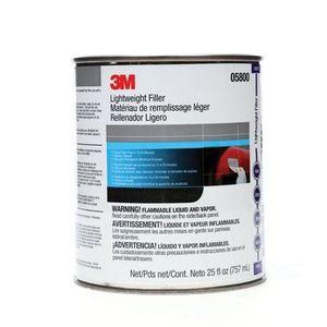 3M 05800 05800 Lightweight Body Filler, 1 qt Can, Blue/Gray, Paste