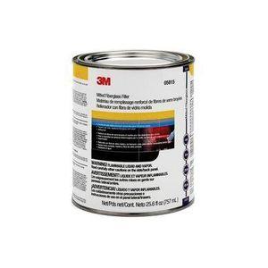 3M 05815 05815 Short Strand Milled Fiberglass Body Filler, 1 qt Can, Red, Paste
