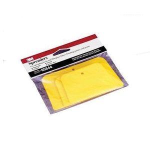 3M 5844 05844 3-Piece Spreader Assortment, 6 in L, Plastic, Yellow